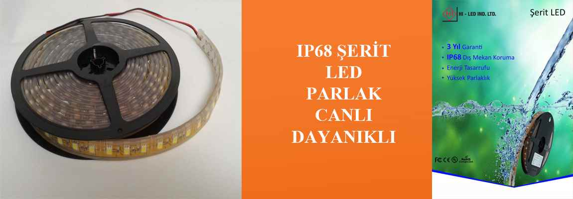 IP68 Şerit Led