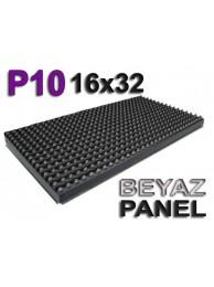 Beyaz P10 panel dışmekan tek renk