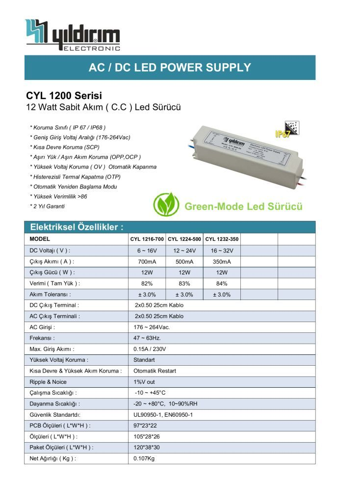 CYL1200D