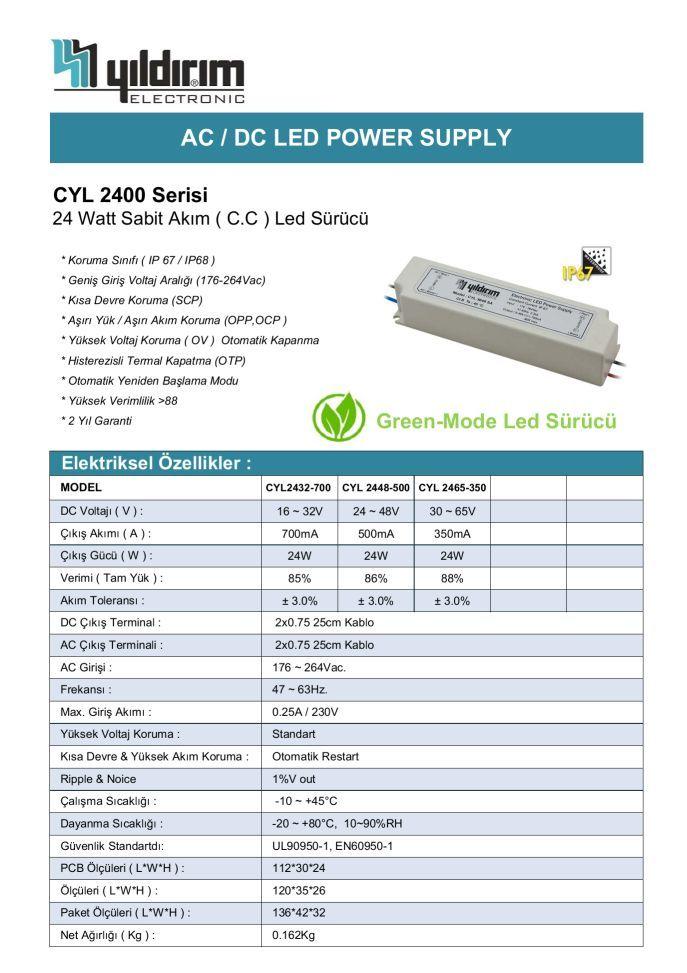 CYL2400D