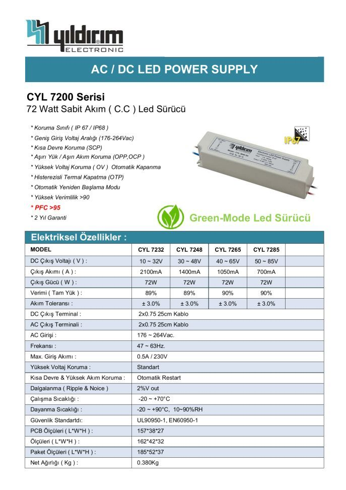 CYL7200D