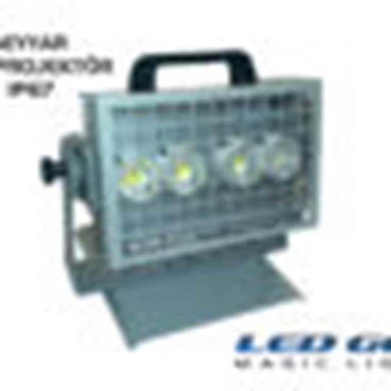 55w,24V AC-DC,SEYYAR LED PROJEKTÖR