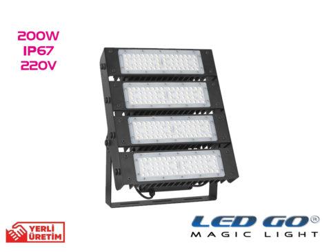 Led Go®PMI-200W Modüler Led Projektör 200W-220V