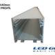 40X40MM led kanal/profil